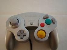 Nintendo Game Cube Controller - Zilver