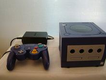 Nintendo Game Cube Paars,