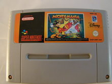 MICKEY MANIA - Snes Game Cartridge