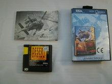 Desert Strike - Sega Mega Drive Game Box Compleet