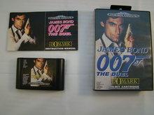 James Bond 007 The Duel - Sega Mega Drive Game Box Compleet