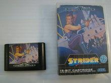 Strider - Sega Mega Drive 16 Bit Game & Box