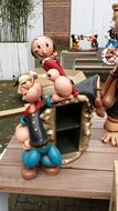 Popeye en Olive Cd Holder - decoratie