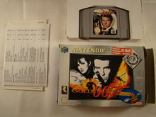 Golden eye - James Bond, 007 - N 64 Game without Booklet