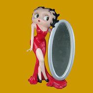 Betty boop with Mirror -4 ft - decoratie
