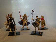 Final Fantasy Figuren, Setje