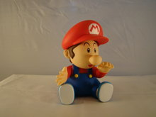 BABY MARIO  Pvc Action Figure - 14 cm rode muts - supermariobross Figuren
