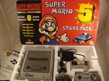 Super mario 5 Stars Pack ( SNES )