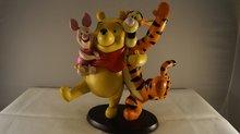 Winnie the pooh,piglet & Tigger Friends, used