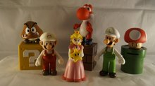 SUPER MARIO BROS FIGUREN - White setje