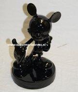 Mickey Mouse Black 22 cm groot decoratiebeeldje - Disney Mickey Mouse Black Beschadigd