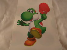 Strijkpatroon  Yoshi met Pet - iron on figure