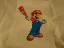 Strijkpatroon Mario met Honkbal knuppel