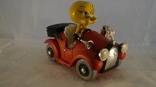 Tweety Bird Angry Driving in Car - warner bros - Decoratie