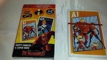 The Incredibles -  Kaartspel - Kwartet