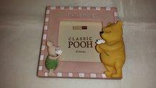 Winnie the pooh - Mini Frame - Pink Dekoratie beeldje