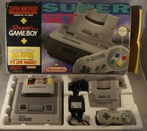 Super Set Mario all Stars en Super Game Boy, S nes compleet.