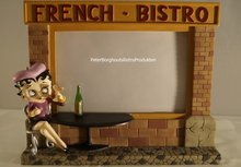 Betty Boop French Bistro Photoframe -  Fotolijst