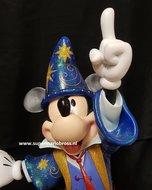 Disneyland Paris 20 anniversary Mickey Mouse Large Disney Figurine - Walt Disney Mickey Soucerer Used