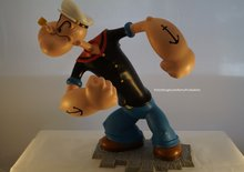 Popeye Definitive Polyresin Beeld 35 cm groot