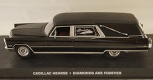 Cadillac  Hearse - Diamonds are Forever - James Bond Collection