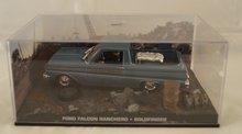 Ford Falcon Ranchero - GOLDFINGER - 007 James Bond Car Collection Perspex Box