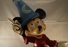 Mickey Fantasia - Mickey met Toverhoed 6o cm groot