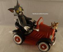 Tom & Jerry in Car - Warner Bros Looney Tunes - Dekoratie figuur