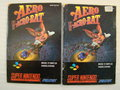 Aero the acrobat - Supernintendo handleiding Used Snes Booklet